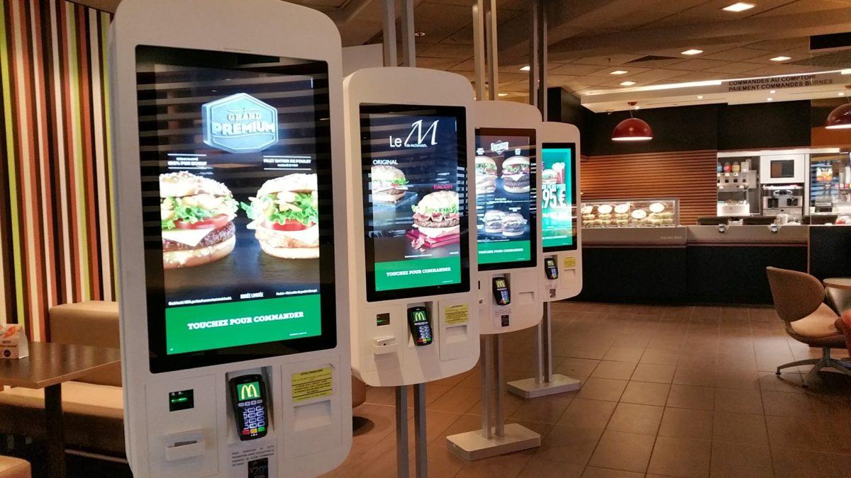 Fabricant de borne pour les restaurants McDonalds