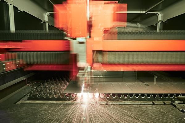Découpe laser métal